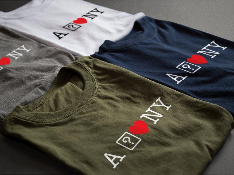 A ? heart NY tshirt