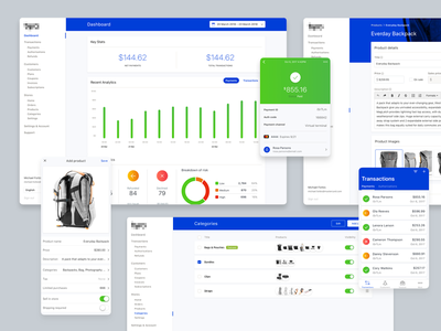 Creating some consistency ecommerce application business banking mobile web ux ui brand