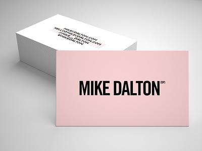 Mike Dalton, DP business card