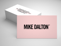 Mike Dalton, DP business card