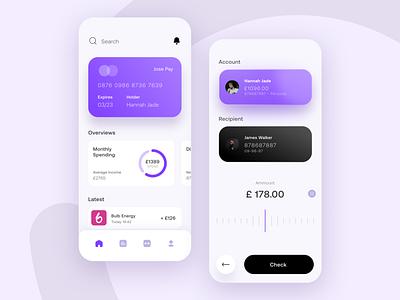 Money App iterations uxui money ui