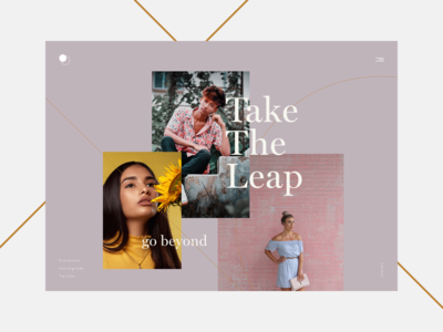 Take The Leap – Editorial Concept