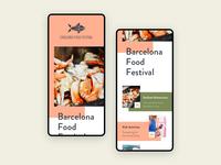 Food Festival Homepage