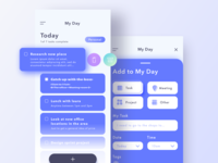 My Day - Task manager concept