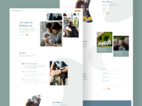 Law Firm Website Concept