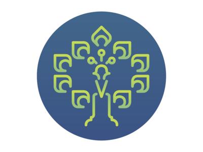 Icon Peacock