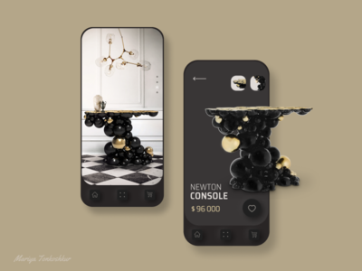 Mobile App for furniture store