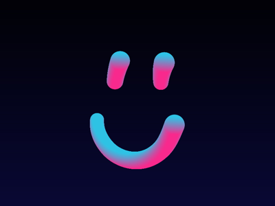 :) smiley face illustrator 3d