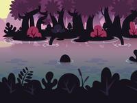 Vodoo concept landscape