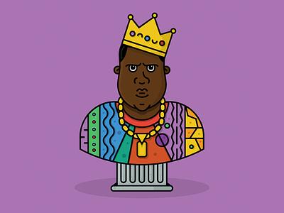 Biggie Birthday v2.0 bust rap notorious big hiphop crown character biggie smalls biggie big