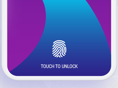Touch to Unlock ui