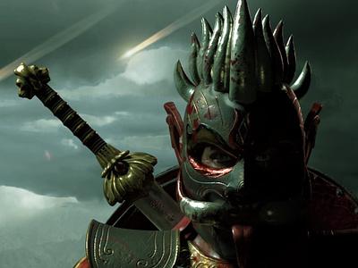 Royal Guard for Game Threta character gamedev game game developer design game art 3d