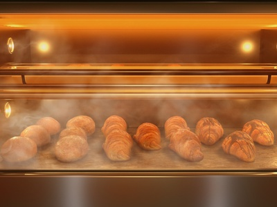 Got Baked ? maya redshift baked goods rendering render 3d