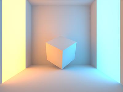 Abstract Interior architecture design render maya redshift 3d gamedev