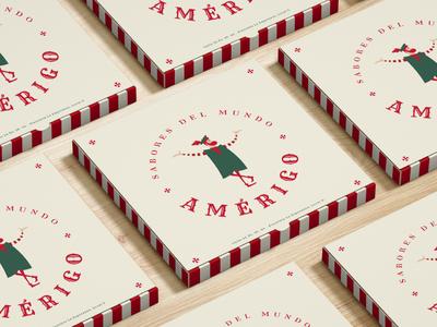 AMERGICO PIZZA BOX