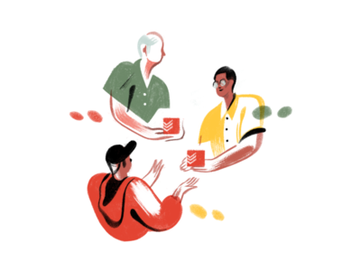 Todoist Foundations Landing Page - Spot Illustrations