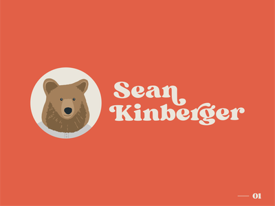 Sean Kinberger Logo ux ui icon typography vector procreate illustrator illustration design branding logo