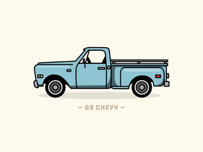 69 Chevy vintage illustration art illustration illustrator