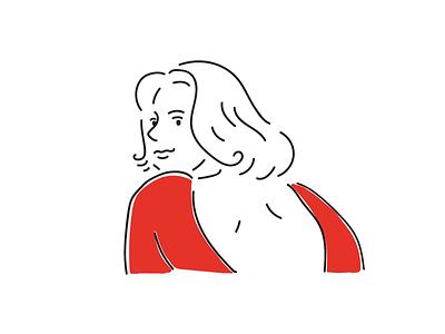 Paris, Texas artwork drawing movieillustration illust illustration pendrawing woman movie paristexas nastassjakinski