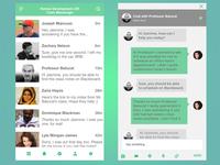 UI Challenge - Messaging App