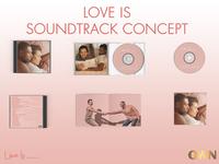 UI Challenge - Album Cover - Love Is Soundtrack