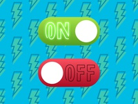 #DailyUI Challenge 015 On Off Switches