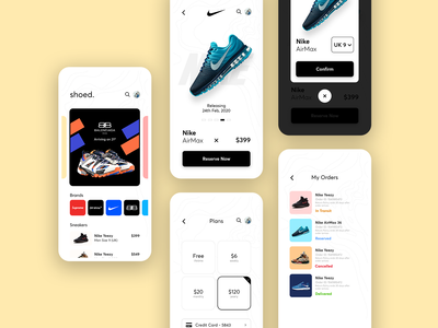 Shoed -  Mobile App