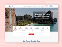 Website Design for Leisure Travel Agency