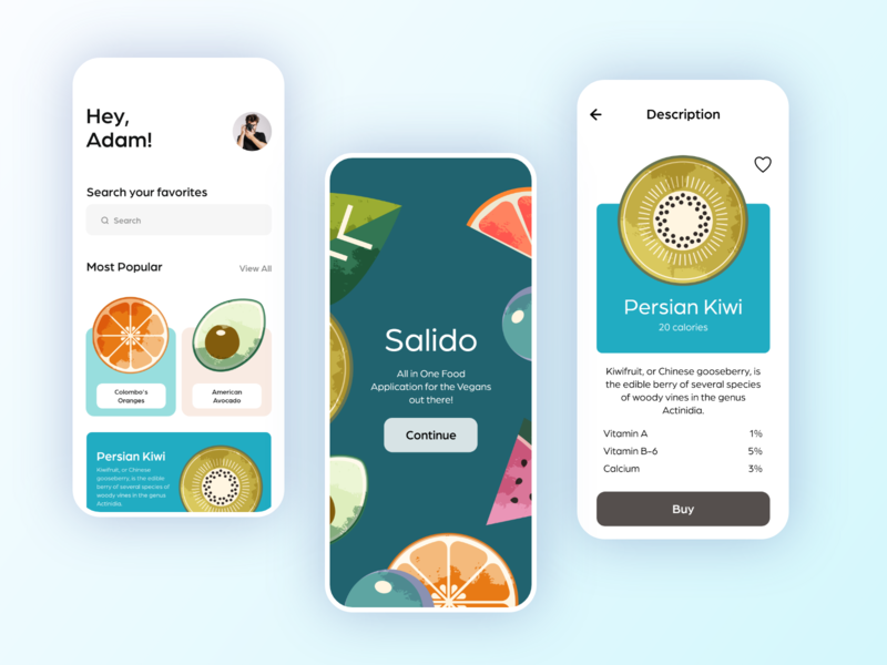 Salido Vegan Store ecommerce app design store vegan food vegan vector illustration mobile app adobe xd specindia clean  creative minimal ux ui design