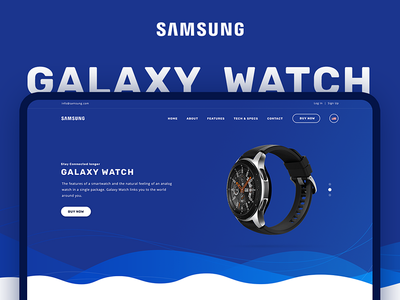 Samsung Galaxy Watch Demo