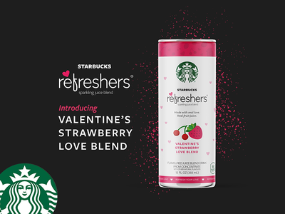 Get Cupid this Valentine's with Starbucks : Redesigning concept