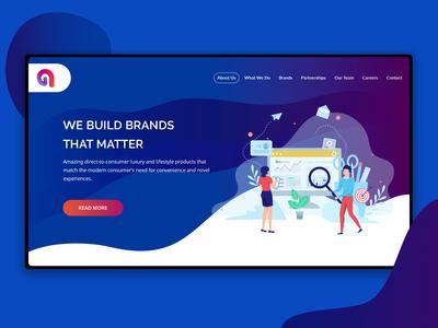 Upcoming Corporate Website