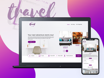 Travel and Accommodation Website