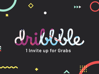 Dribbble Invite Up For Grabs