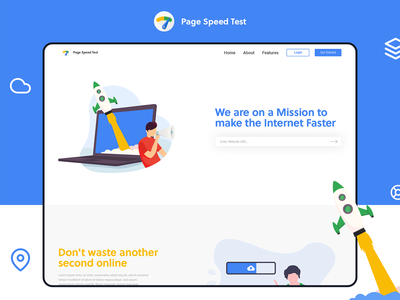 Landing Page Design for SEO Agency