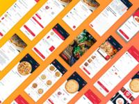 Daily UI - Cheeza Pizza App