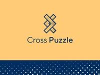 Cross Puzzle Logo Design