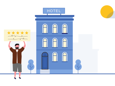 Importance Of Online Reviews For Local Businesses vector illustration branding