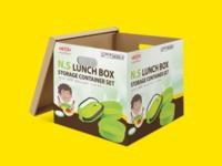 Cartoon box design