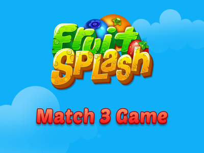 Fruit Splash (Match 3 Game)