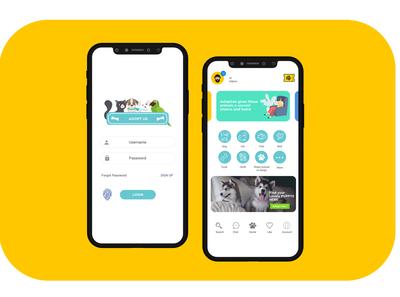 Adopt Us Mobile UI