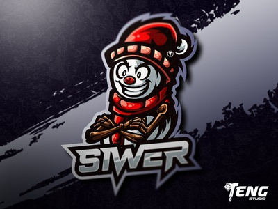 SIWER LOGO MASCOT VECTOR ESPORT/SPORT