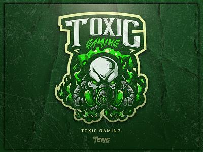 TOXIC GAMING team overwatch fortnite brand game branding design sport esport character logo mascot