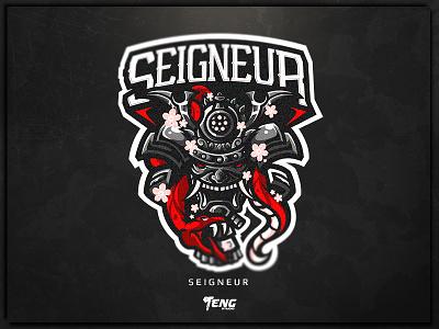 SEIGNEUR overwatch fortnite brand game branding design sport esport character logo mascot