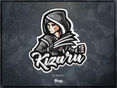 KIZARU overwatch fortnite brand game branding design sport esport character logo mascot