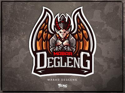 Mabar Degleng overwatch fortnite brand game branding design sport esport character logo mascot