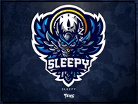 SLEEPY team overwatch fortnite brand game branding design sport esport character logo mascot
