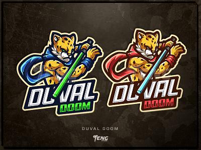 Duval Doom overwatch fortnite brand game branding design sport esport character logo mascot