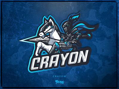 CRAYON overwatch fortnite brand game branding design sport esport character logo mascot