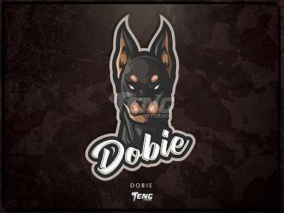 Dobie overwatch fortnite brand game branding design sport logo esport character mascot